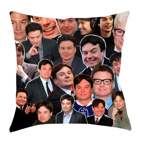 Mike Myers Photo Collage Pillowcase