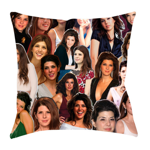 Marisa Tomei Photo Collage Pillowcase
