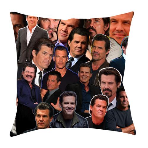 Josh Brolin Photo Collage Pillowcase