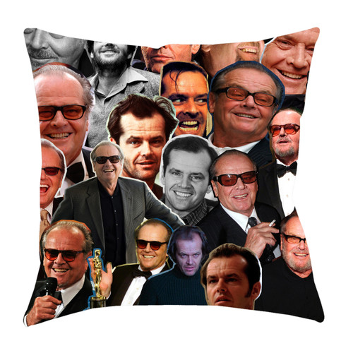 Jack Nicholson Photo Collage Pillowcase