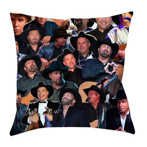 Garth Brooks Photo Collage Pillowcase