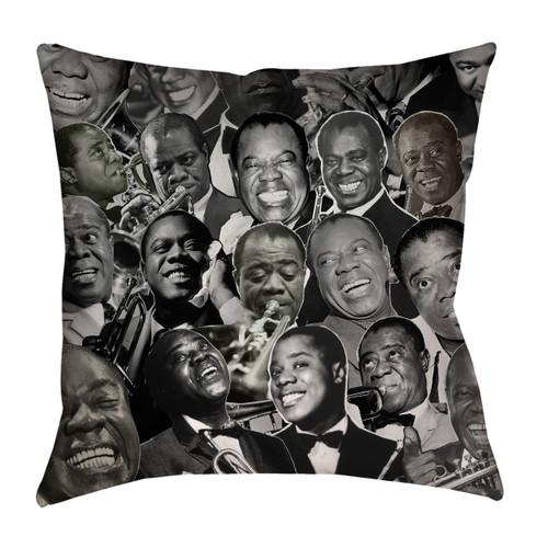 Louis Armstrong pillowcase