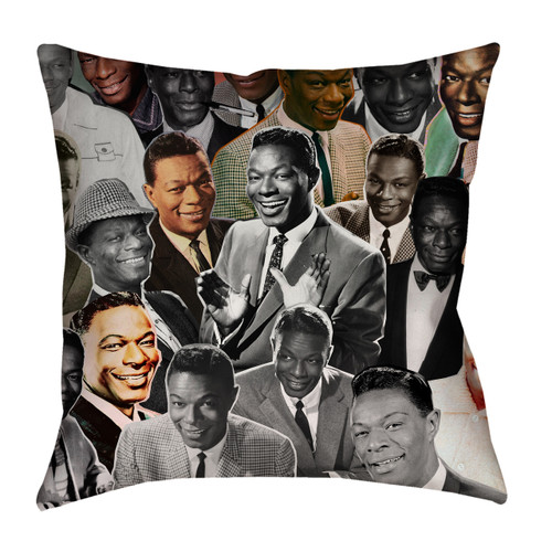 Nat King Cole pillowcase