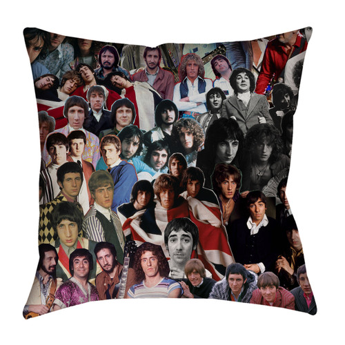 The Who pillowcase