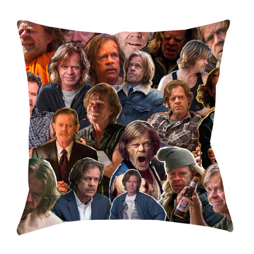 Frank Gallagher (Shameless) Photo Collage Pillowcase