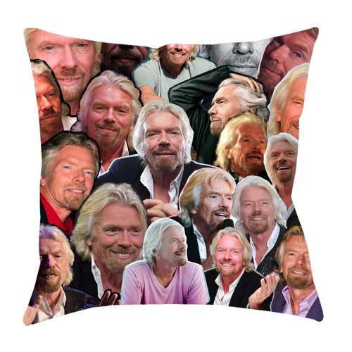 Richard Branson Photo Collage Pillowcase