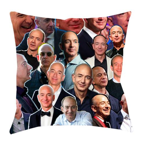 Jeff Bezos Photo Collage Pillowcase