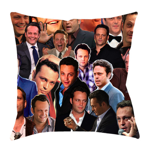 Vince Vaughn Photo Collage Pillowcase