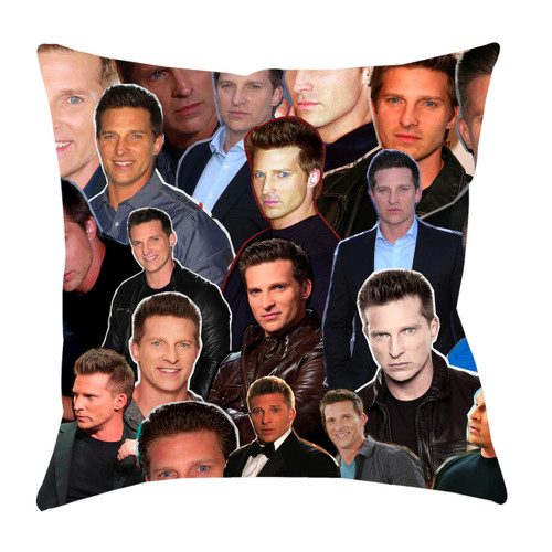 Steve Burton Photo Collage Pillowcase