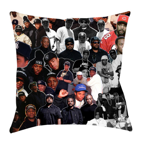 NWA Photo Collage Pillowcase