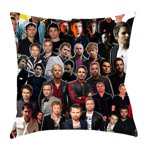Muse Photo Collage Pillowcase
