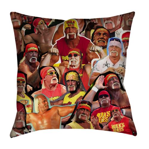 Hulk Hogan Photo Collage Pillowcase