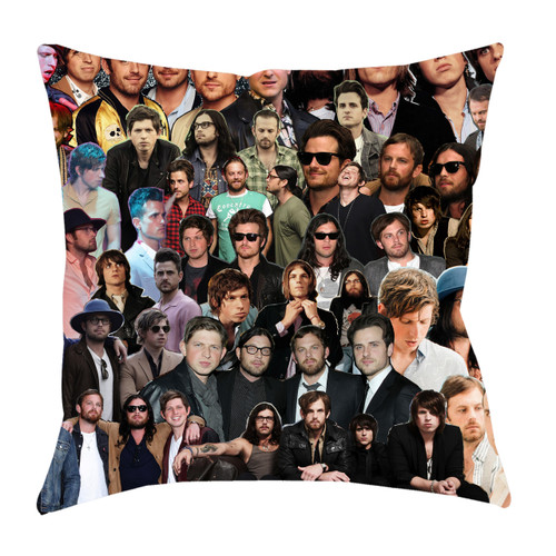 Kings of Leon Photo Collage Pillowcase