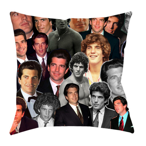 John F. Kennedy Jr. Photo Collage Pillowcase