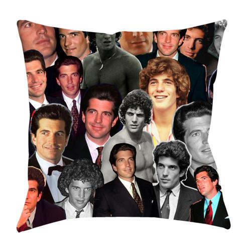 John F. Kennedy Jr. Photo Collage Pillowcase