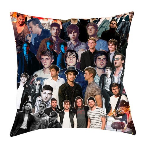 Foster The People Photo Collage Pillowcase