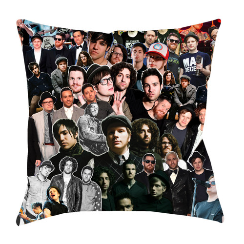 Fall Out Boy Photo Collage Pillowcase