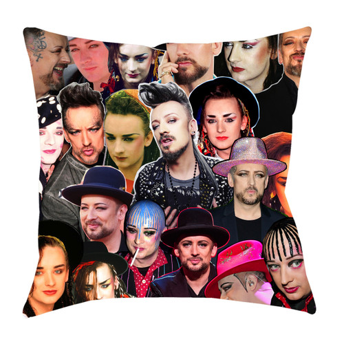 Boy George Photo Collage Pillowcase