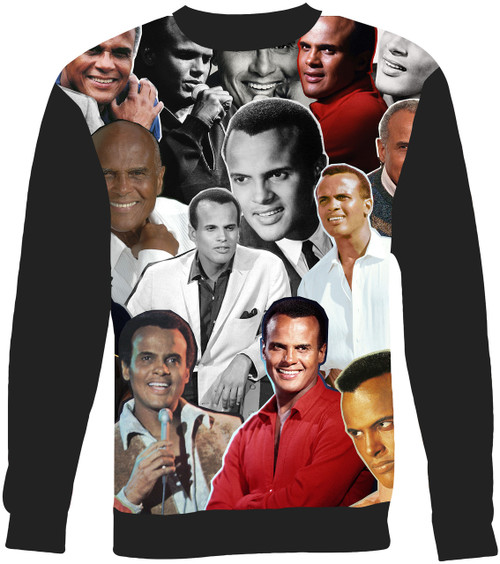 Harry Belafonte Collage Sweater Sweatshirt