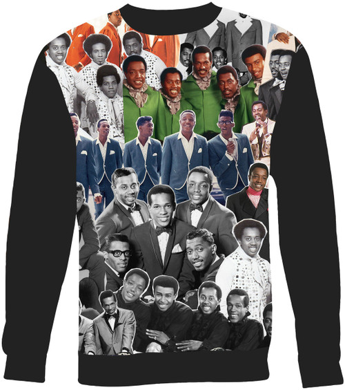 The Temptations Collage Sweater Sweatshirt