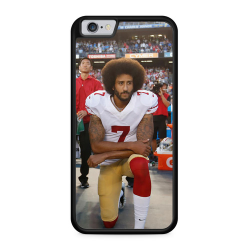 Colin Kaepernick Kneeling for the National Anthem phone case