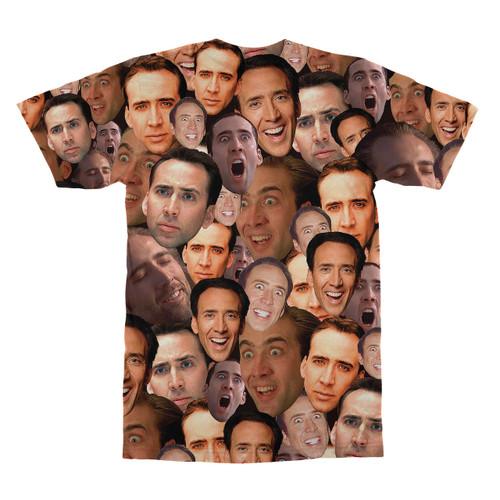 5e412f78d25e9d Nicolas Cage tshirt  Nicolas Cage tshirt back ...