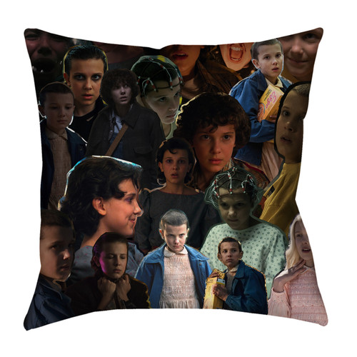 Eleven Stranger Things Photo Collage Pillowcase