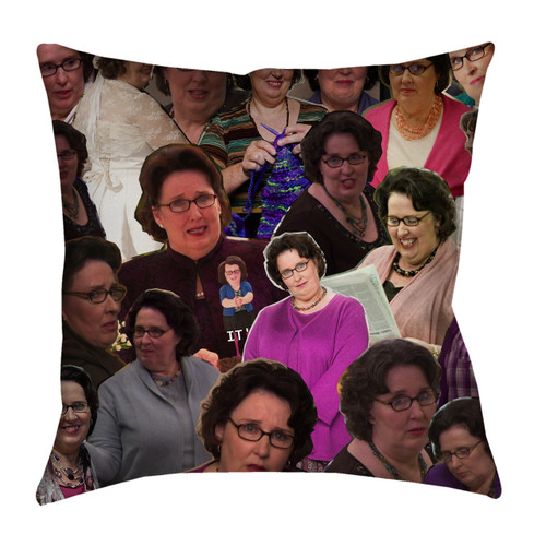 Phyllis Vance The Office pillowcase