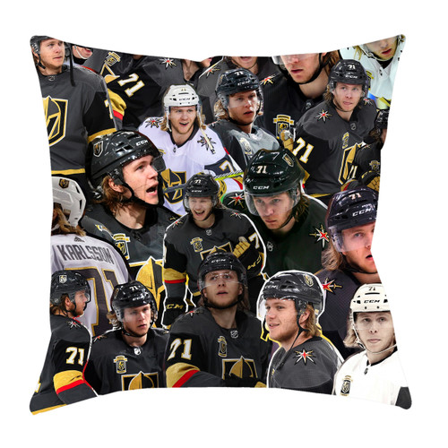 William Karlsson Photo Collage Pillowcase