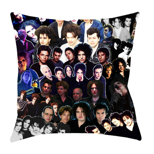 The Cure Photo Collage Pillowcase