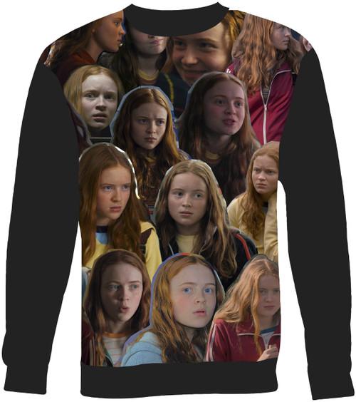 Max Strangers Things Collage Sweater Sweatshirt