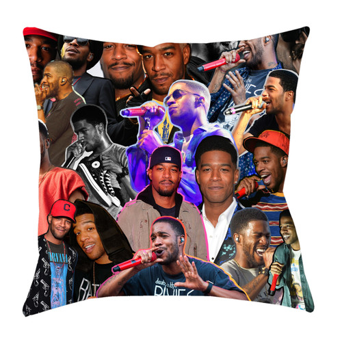 Kid Cudi Photo Collage Pillowcase