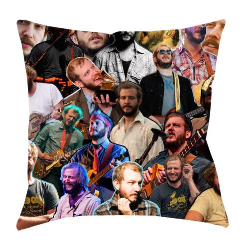 Justin Vernon Photo Collage Pillowcase