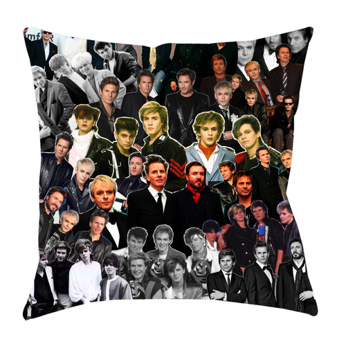 Duran Duran Photo Collage Pillowcase