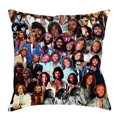 Bee Gees Photo Collage Pillowcase