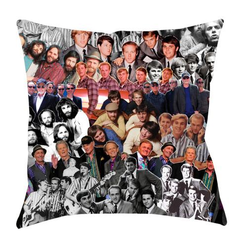 The Beach Boys Photo Collage Pillowcase