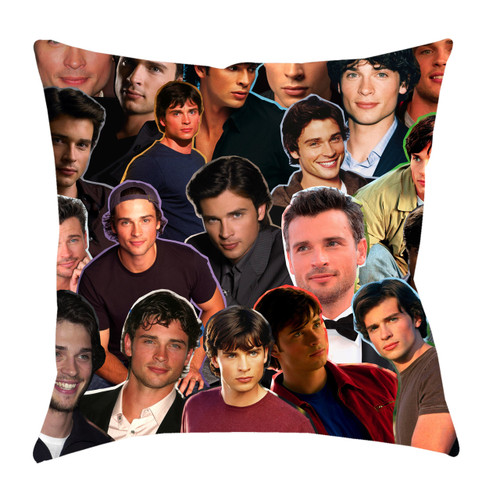 Tom Welling Photo Collage Pillowcase