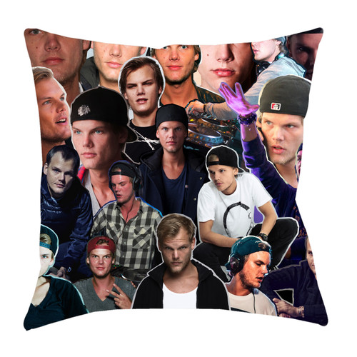 Avicii Photo Collage Pillowcase