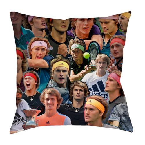 Alexander Zverev pillowcase