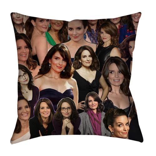 Tina Fey pillowcase