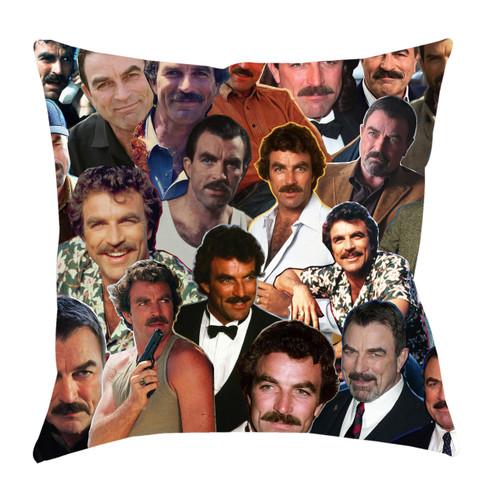 Tom Selleck Photo Collage Pillowcase