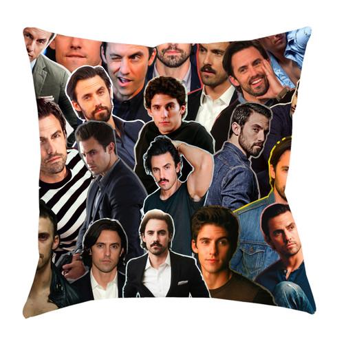 Milo Ventimiglia Photo Collage Pillowcase
