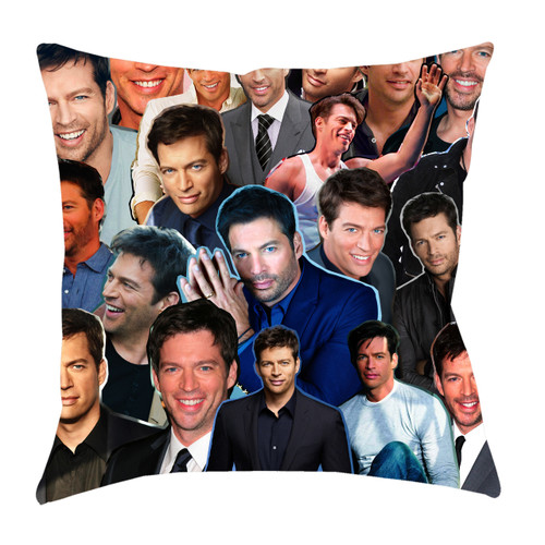 Harry Connick Jr. Photo Collage Pillowcase