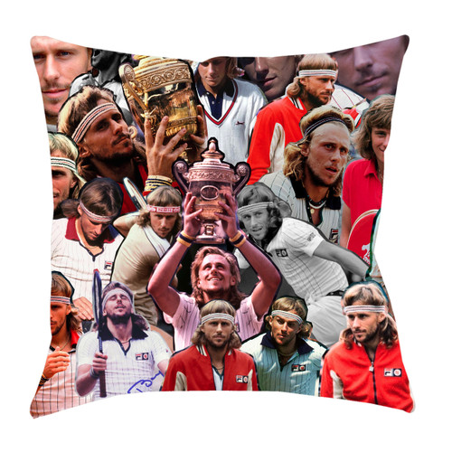 Bjorn Borg Photo Collage Pillowcase