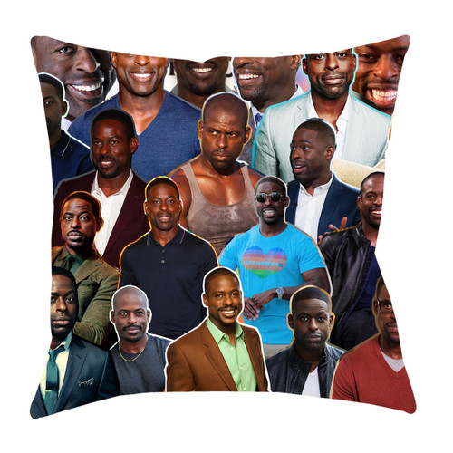 Sterling K. Brown Photo Collage Pillowcase