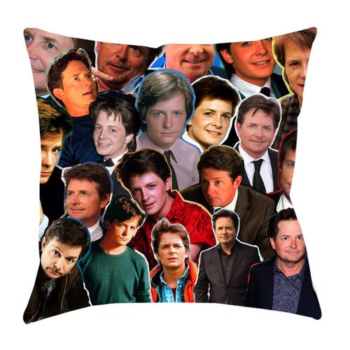 Michael J. Fox Photo Collage Pillowcase
