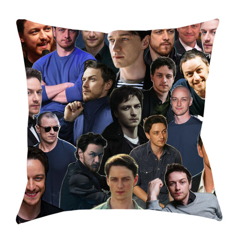 James McAvoy Photo Collage Pillowcase