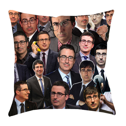 John Oliver Photo Collage Pillowcase