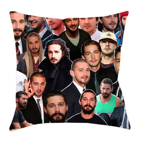 Shia LaBeouf Photo Collage Pillowcase