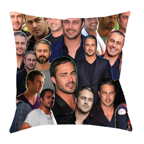 Taylor Kinney Photo Collage Pillowcase